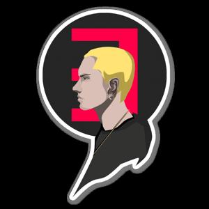 Em sticker