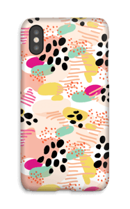 Abstrait Coque  IPhone X