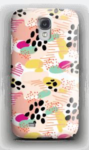 Abstract kuoret Galaxy S4