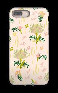 Kukkasia kuoret IPhone 8 Plus tough