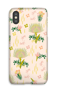 Motif floral Coque  IPhone X