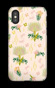 Motif floral Coque  IPhone X tough