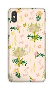Floral Pattern deksel IPhone XS Max
