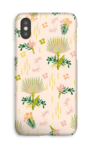 Floral Pattern deksel IPhone XS
