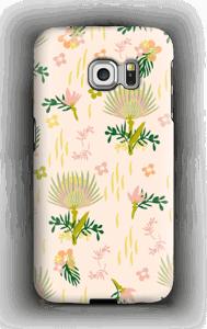Floral Pattern deksel Galaxy S6 Edge