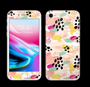 Abstrait Skin IPhone 8