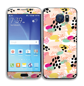 Abstrait Skin Galaxy S6