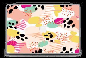 """Abstracto Vinilo  MacBook Pro 15"""" -2015"""