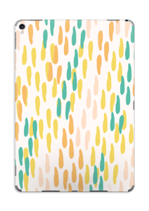 手描きの雨粒 スキンシール IPad Pro 10.5