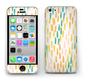 Points et Confettis Skin IPhone 5c