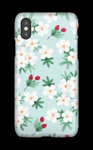 Blomstrende vår deksel IPhone X