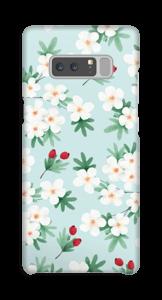 Blomstrende vår deksel Galaxy Note8