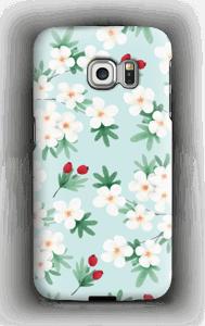 Blomstrende vår deksel Galaxy S6 Edge