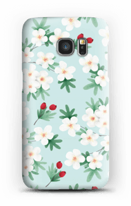 Blomster cover Galaxy S7