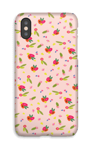 Allover Floral deksel IPhone X