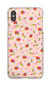 Allover Floral deksel IPhone XS Max