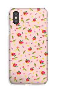 Allover Floral deksel IPhone XS