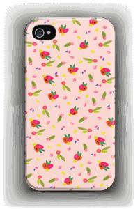 Kukkasia kuoret IPhone 4/4s