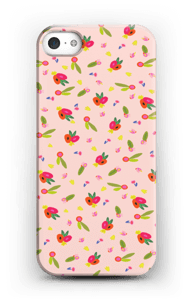 Blomster cover IPhone 5/5S