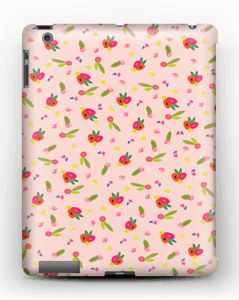Allover Floral deksel IPad 4/3/2