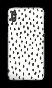 Penselstrøk deksel IPhone XS Max