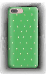 Grønne tulipaner deksel IPhone 7 Plus