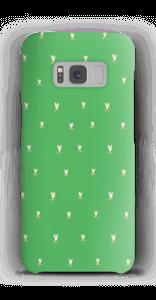Grønne tulipaner deksel Galaxy S8