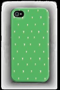Vihreä tulppaani kuoret IPhone 4/4s