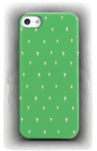 Grønne tulipaner cover IPhone 5/5S