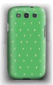 Grønne tulipaner deksel Galaxy S3