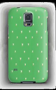 Grønne tulipaner deksel Galaxy S5