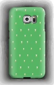 Grønne tulipaner deksel Galaxy S6 Edge