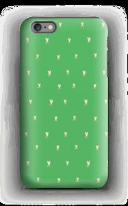 Grønne tulipaner deksel IPhone 6 Plus tough