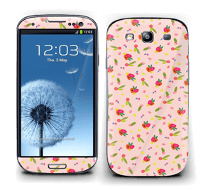 Blomster over det hele Skin Galaxy S3