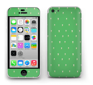 Tulipes vertes Skin IPhone 5c