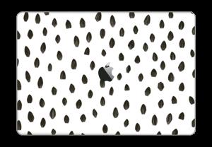 """Penselstrøk Skin MacBook Pro 15"""" 2016-"""