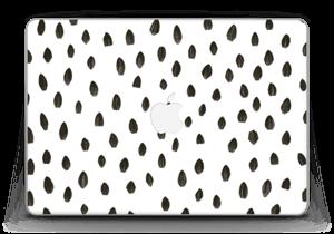 "Penselstrøk Skin MacBook Pro Retina 13"" 2015"