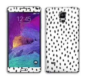 Pinselstriche Skin Galaxy Note 4