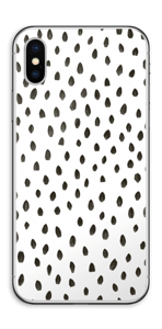 Penselstrøk Skin IPhone XS