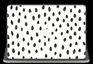 "Penselstrøk Skin MacBook Pro Retina 15"" 2015"