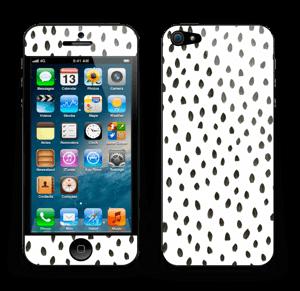 Penselstrøk Skin IPhone 5