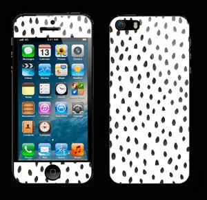 Penselstrøk Skin IPhone 5s
