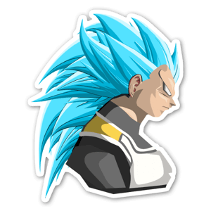 SSGB3 Vegeta  sticker