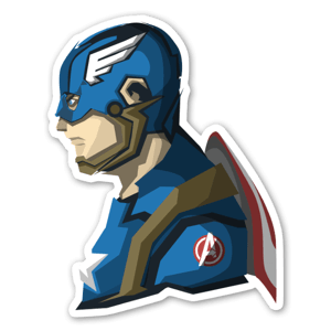 The Captain sticker