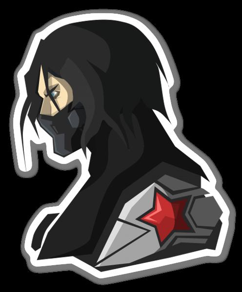Winter Soldier pegatina