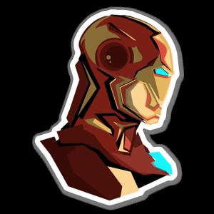 STARK! sticker