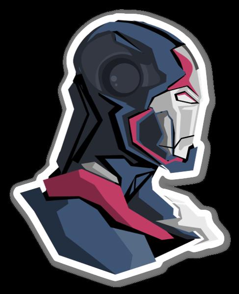 Iron Patriot sticker