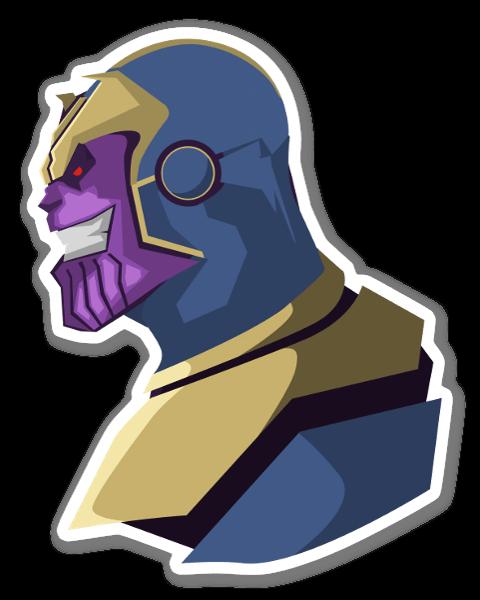 Thanos pegatina