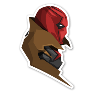 The Hood V2  sticker