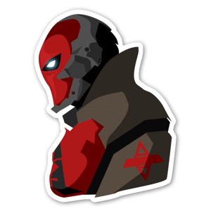 Arkham Knight V2  sticker